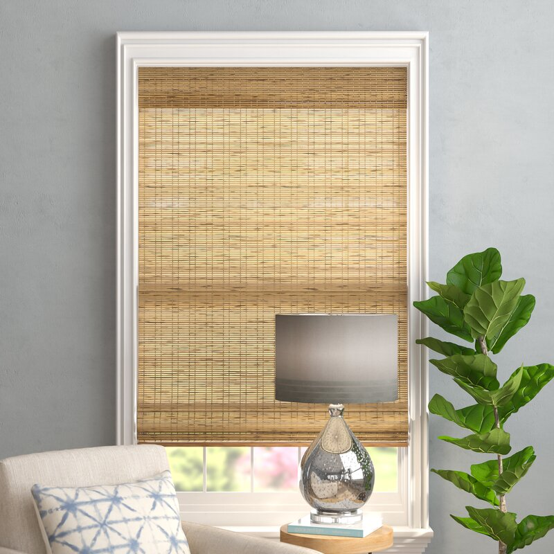 Go With a Rustic Style Using a Bamboo Curtain