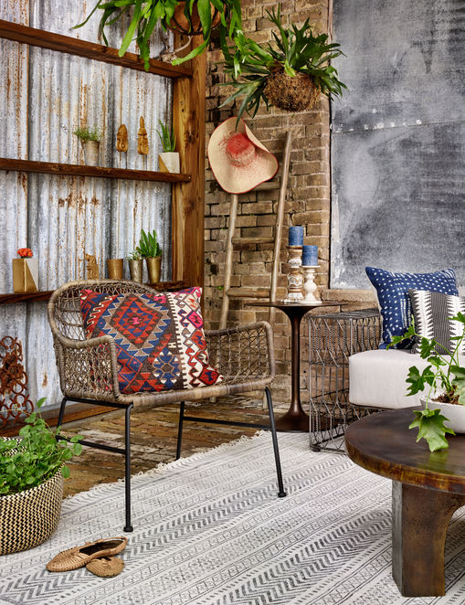Simple And Rustic Chair