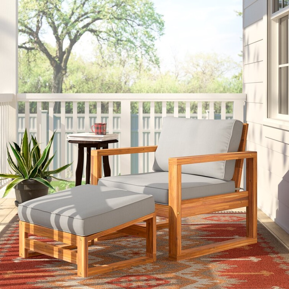 Prop Up a Patio Chair