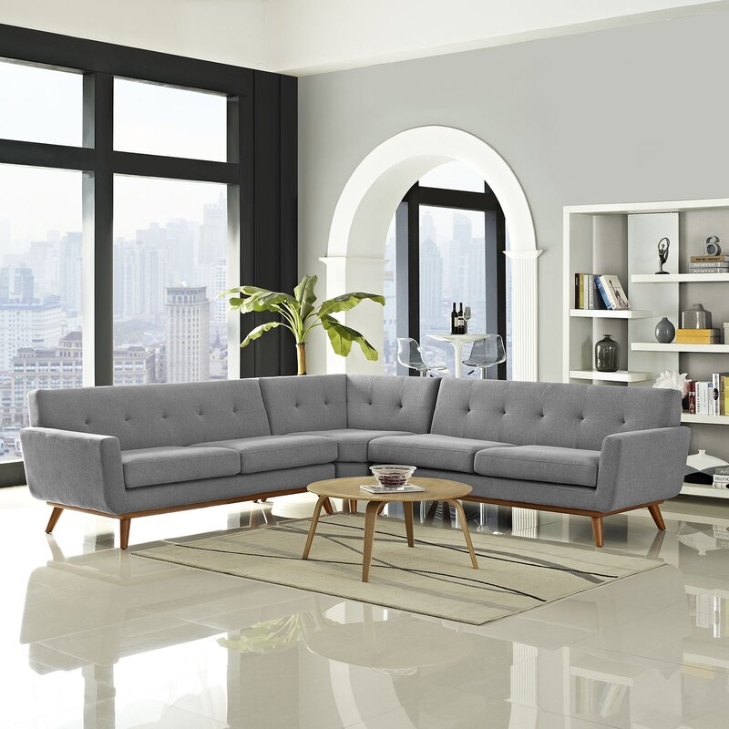 Centrally Align the Rug with Coffee Table