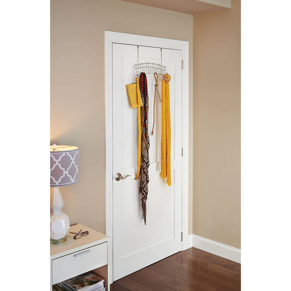 Organize Your Space With an Over the Door Organizer