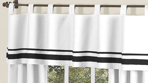 Choose a Striped And Ruffled Curtain