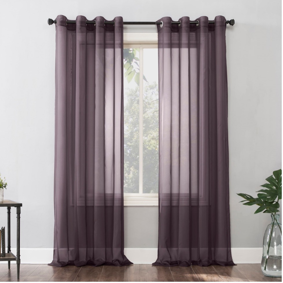 Hang Some Sheer Curtains