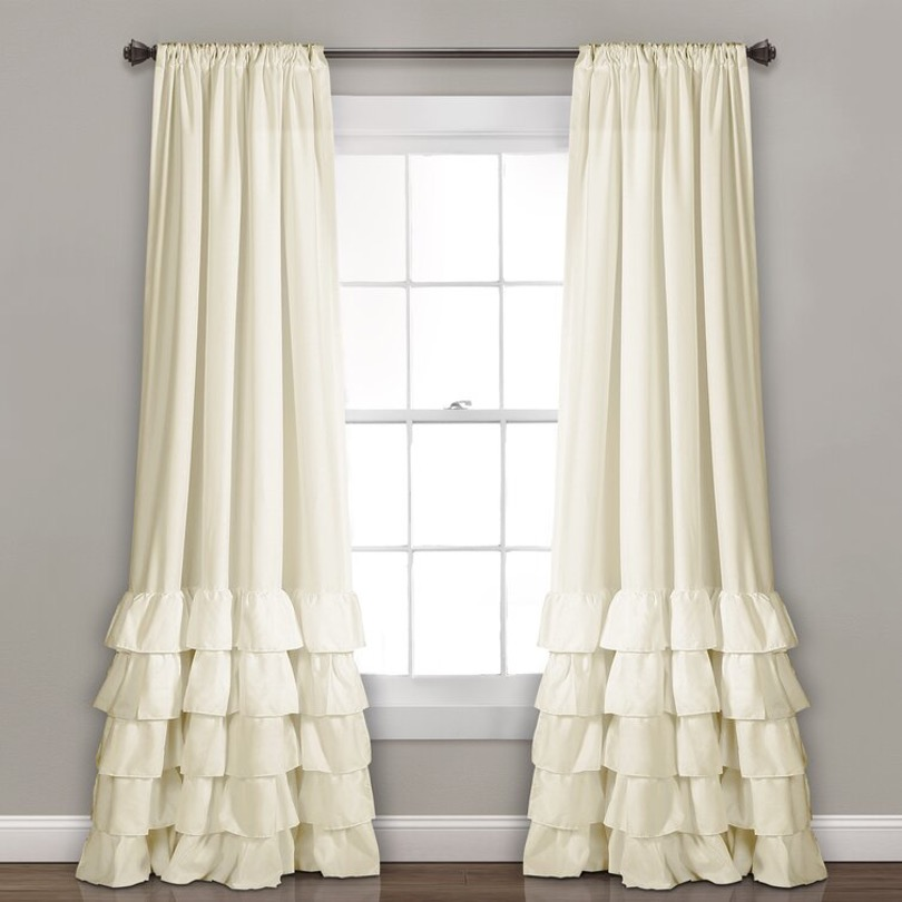 Watch These Ruffled Curtains Sway in the Wind