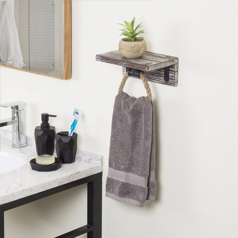 Mount a Towel Rope Ring