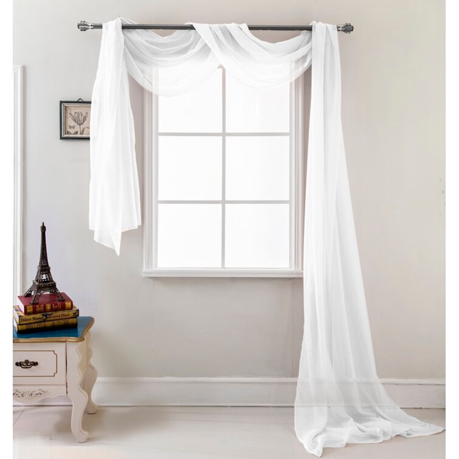 Stylize Your Window with a Scarf