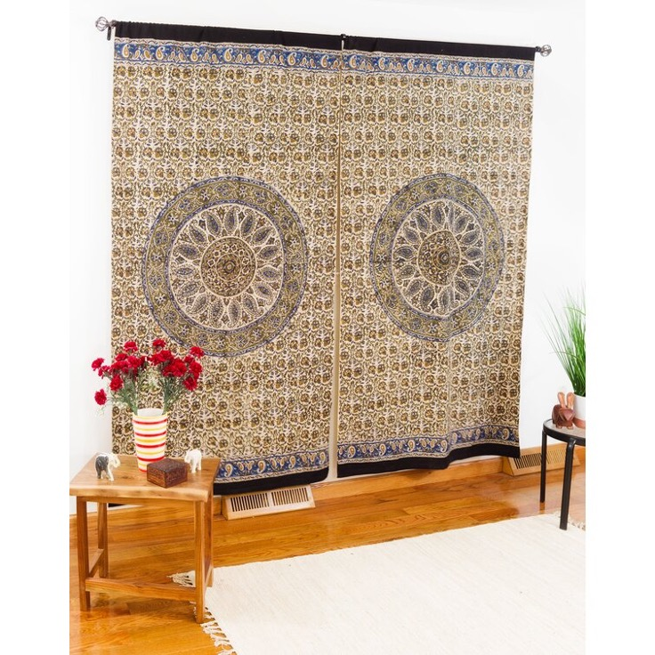 Diversify Your Style Pallet with Kalamkari Curtain Panels