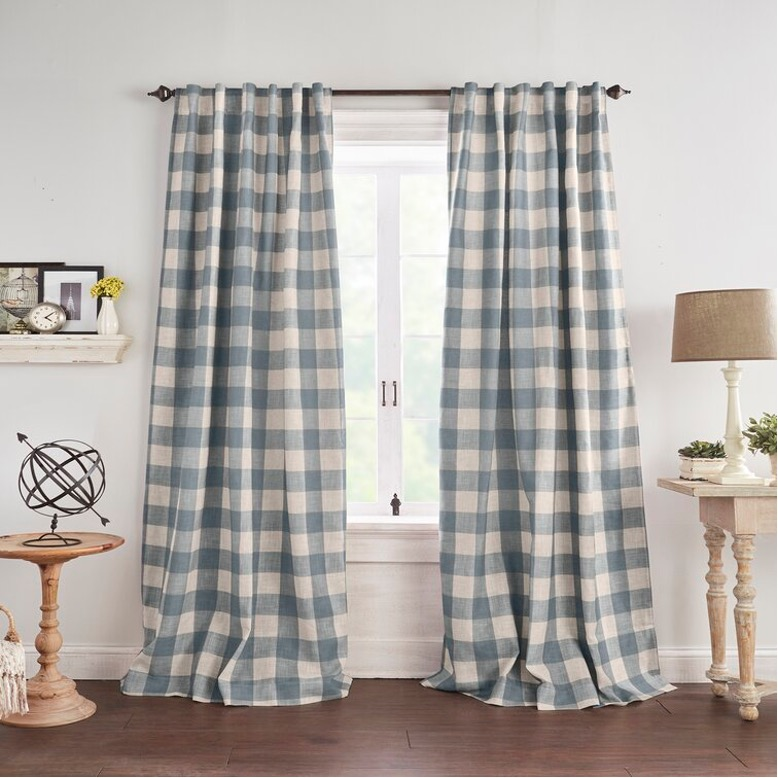 Pay Ode to Classic Farmhouse Decor with Plaid Panels
