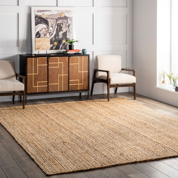 Introduce Nature with this Jute Braided Area Rug