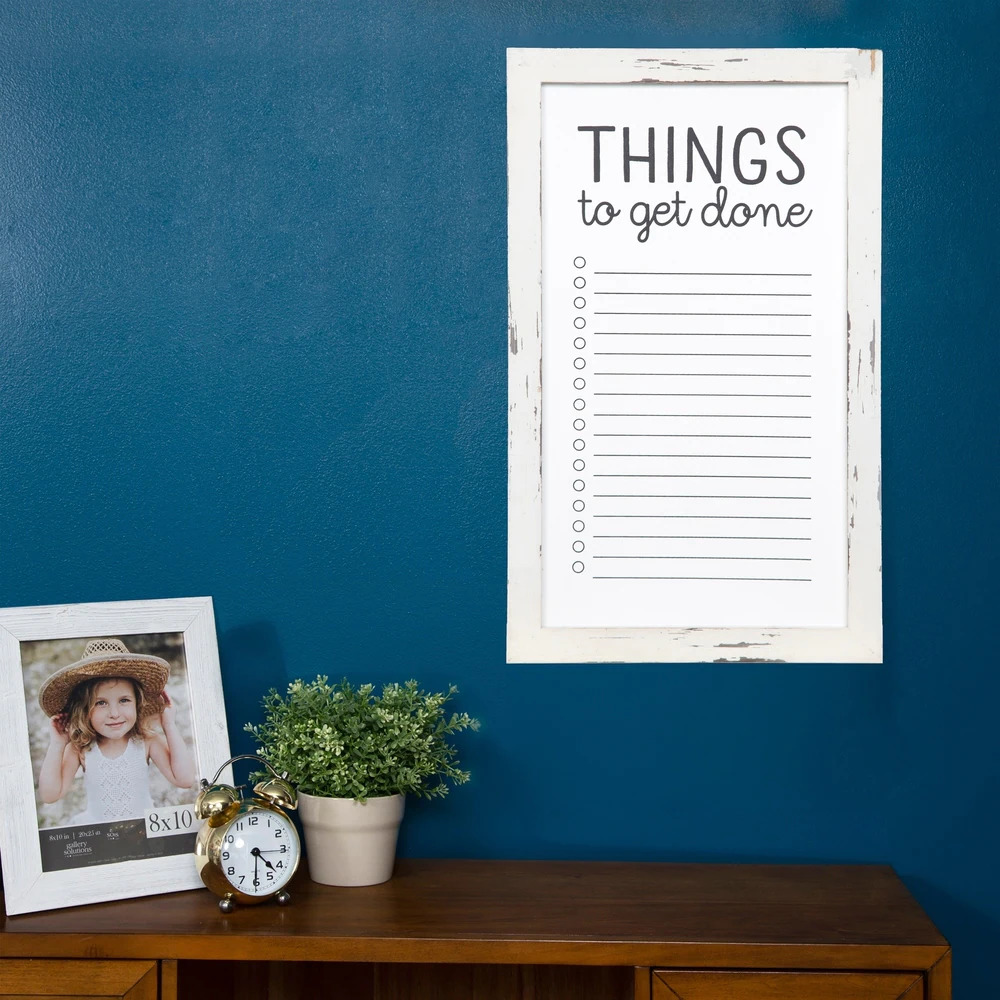 Make Your Closet Practical With a To-Do List Whiteboard