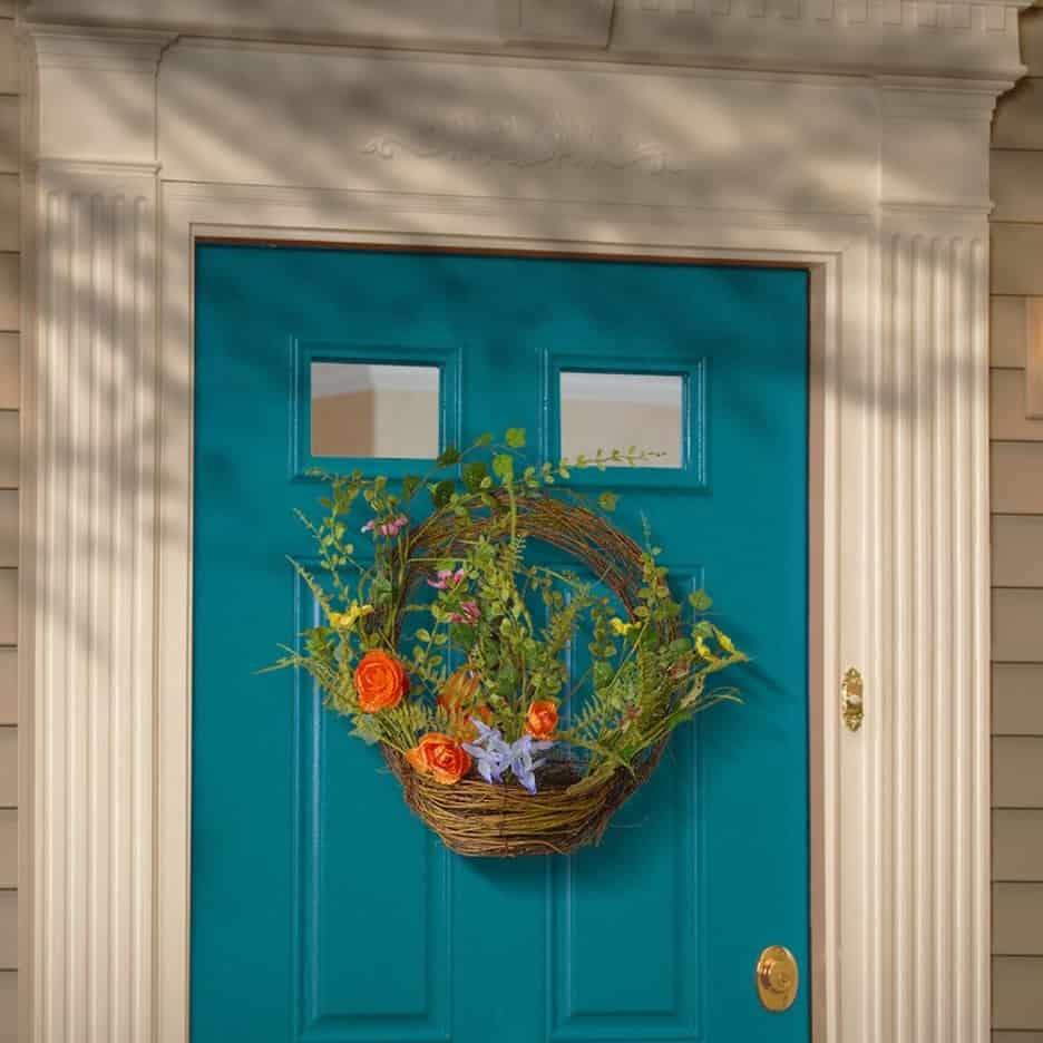 Hang a Flower Basket
