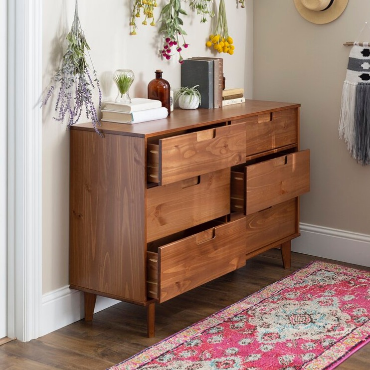 Helmick 6 Drawer Dresser