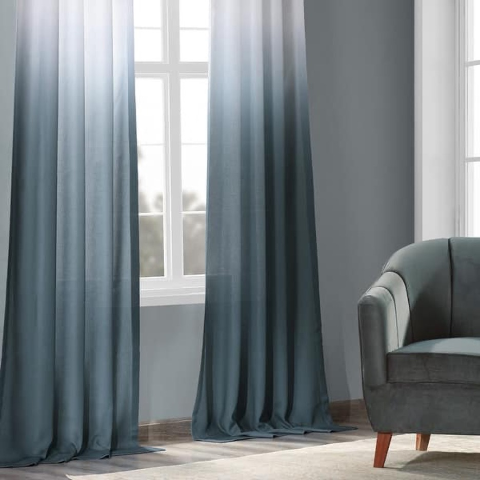 Level-Up Your Style Game with Two-Toned Curtains