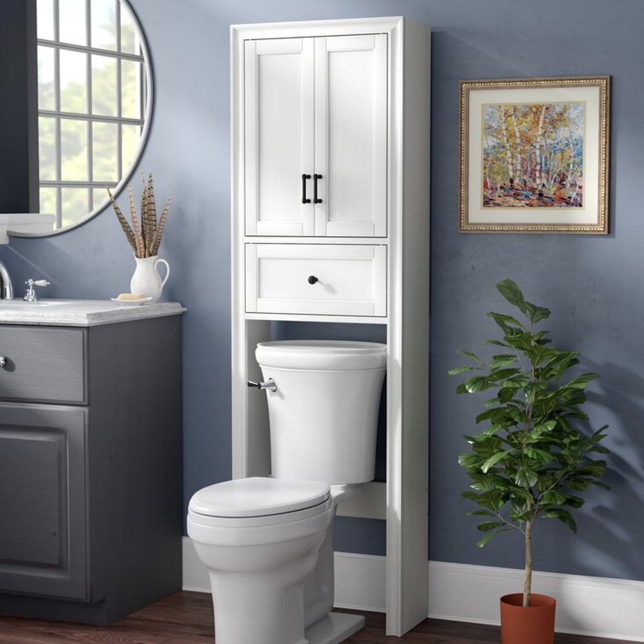 Try Over-The-Toilet Storage with Drawers