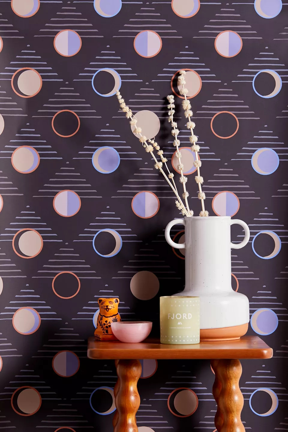 Add a Modern Touch With Stylish Moon Wallpaper