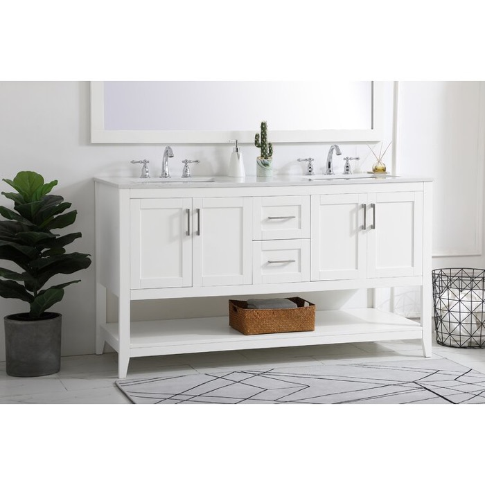 Opt for a Long, Narrow Vanity