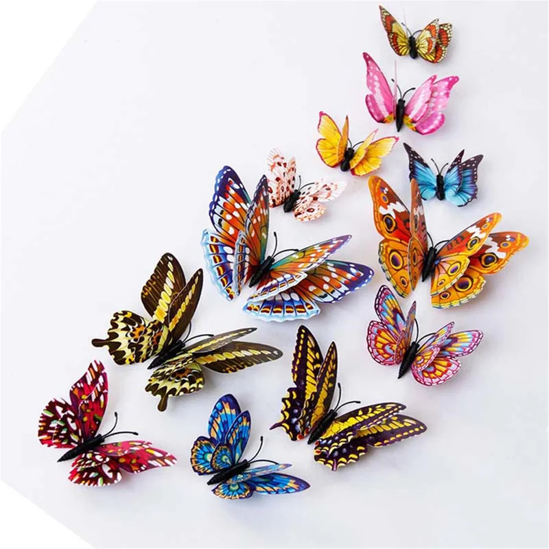 Use Butterfly Decor for a Colorful Flair