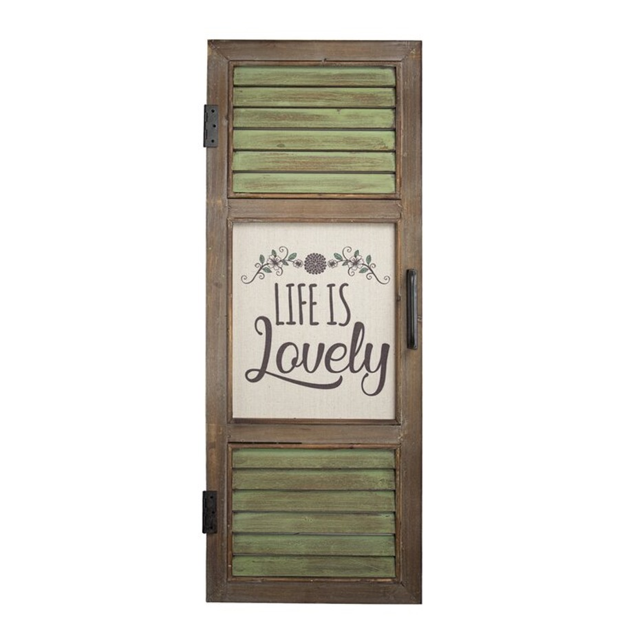 Revamp Your Window with Wooden Shutter Farmhouse Window Coverings