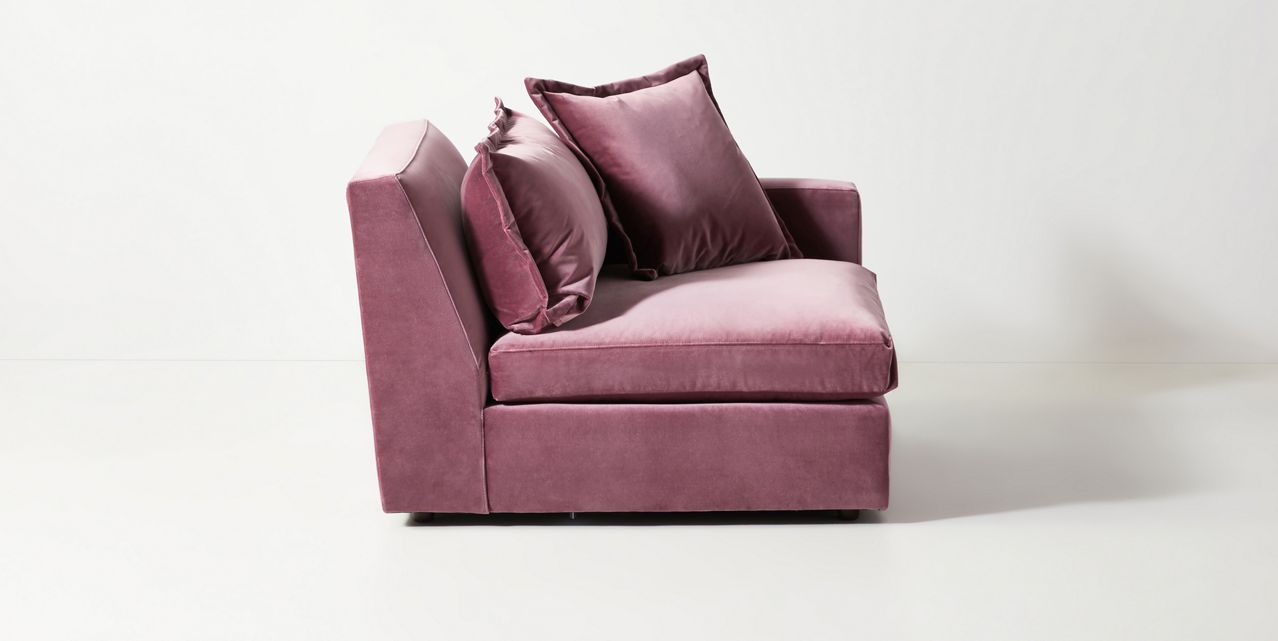Look For a Comfortable Velvet Armchair