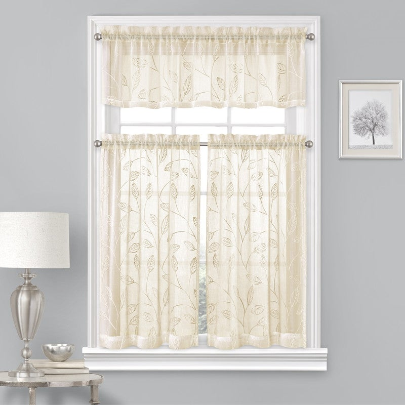 Embrace an Embroidered Curtain