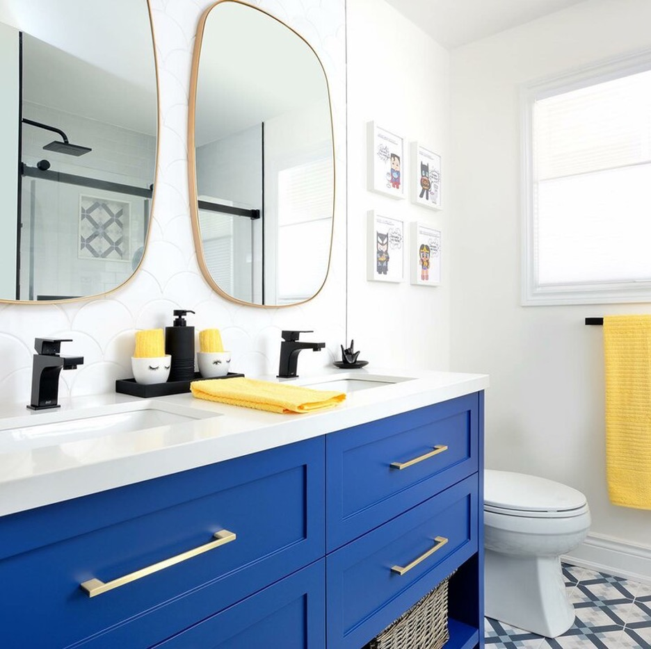 Add a Pop of Color with a Pigmented Vanity