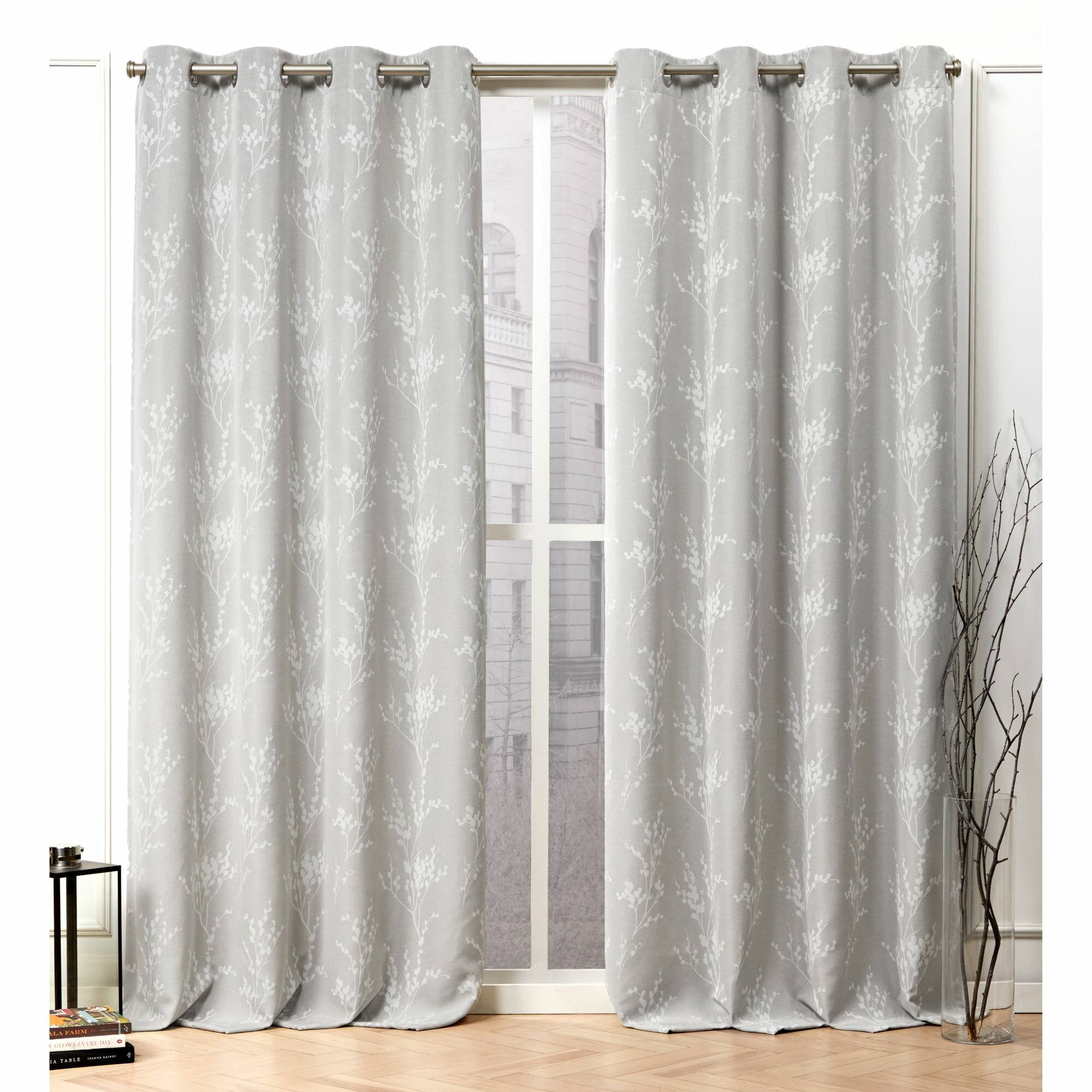 Decorate with Patterned Curtains for Sliding Glass Doors