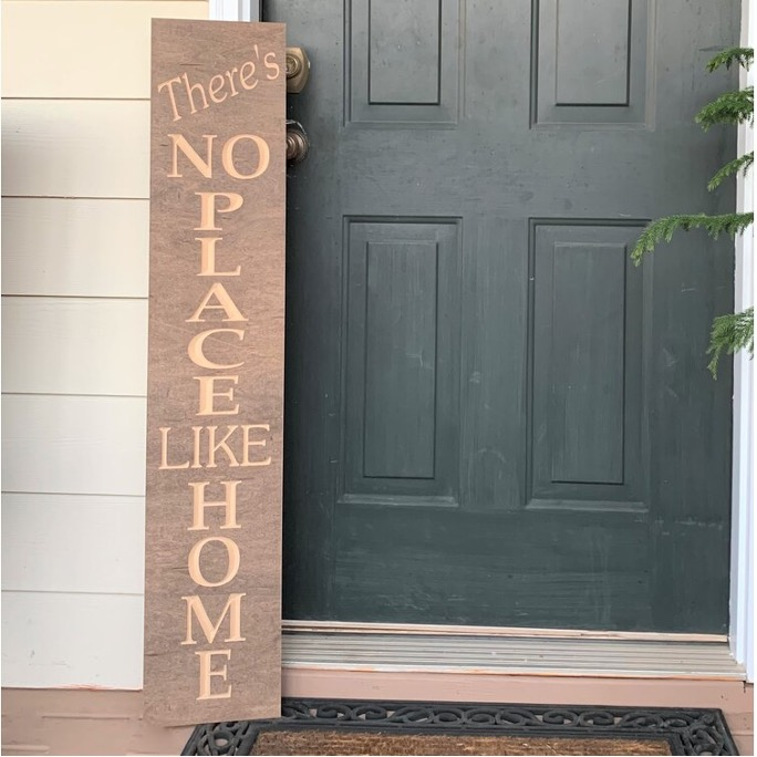 Install an Oversized Welcome Sign